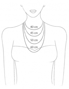 PELIZZARI | Necklaces Size Chart